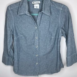 Columbia Button Down Size S